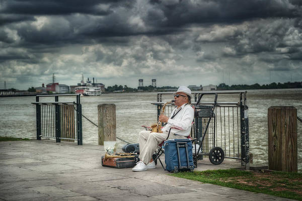 New Orleans Art Print featuring the photograph River Serenade by Brenda Bryant