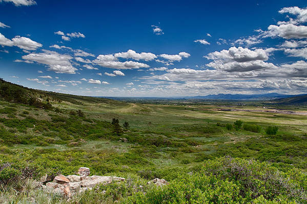Colorado Print featuring the photograph Rolling Hills by Tony Boyajian
