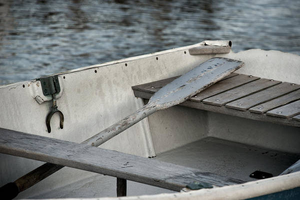 Rowboat Art Print featuring the photograph Rowboat by Charles Harden