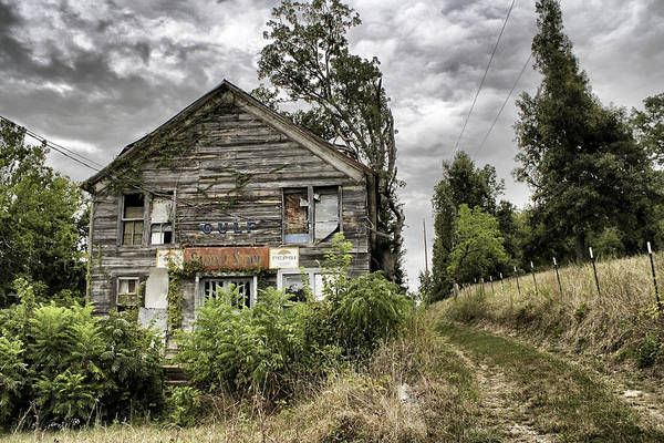 Rustic Art Print featuring the photograph Saddle Store 3 Of 3 by Jason Politte