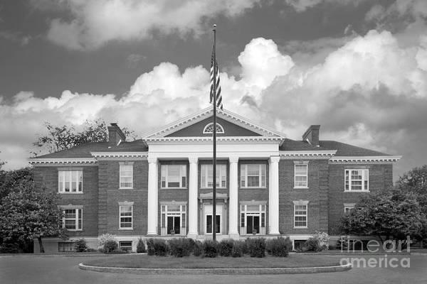 Administration Art Print featuring the photograph Sage College Administration Building by University Icons