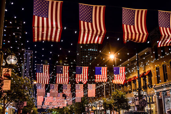4th Of July Art Print featuring the photograph Salute To Old Glory by Teri Virbickis