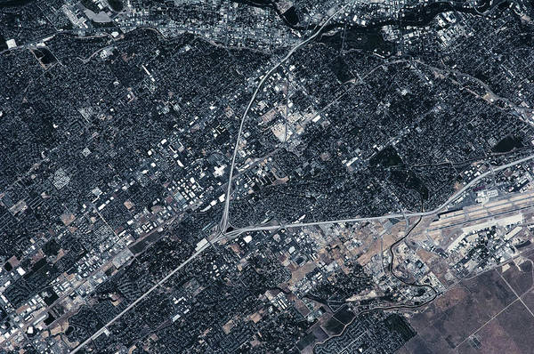 Photography Art Print featuring the photograph Satellite View Of Boise, Idaho, Usa by Panoramic Images