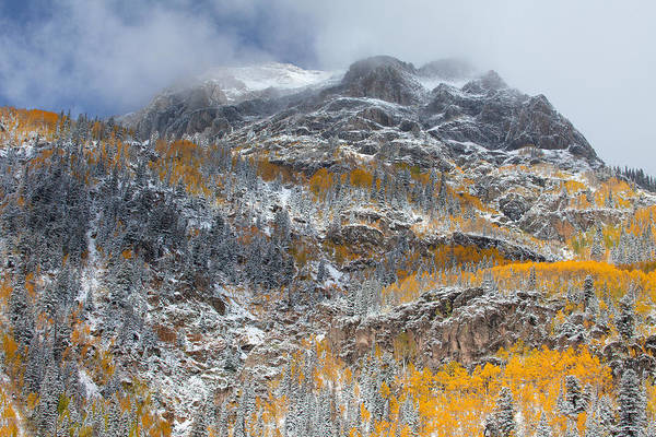 Colorado Landscapes Art Print featuring the photograph Seasonal Chaos by Darren White