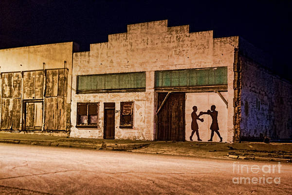 Shadow Boxing Art Print featuring the photograph Shadow Boxing by Gary Holmes