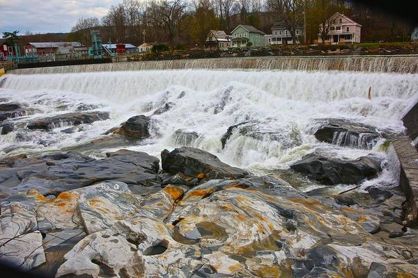 Deerfield River Print featuring the photograph Shelburne's Falls by Randi Shenkman