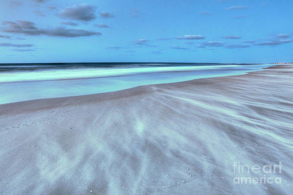 Frisco Beach Art Print featuring the photograph Shifting Sands On Frisco Beach Outer Banks I by Dan Carmichael