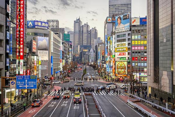 Shinjuku Art Print featuring the photograph Shinjuku by Rich Legg