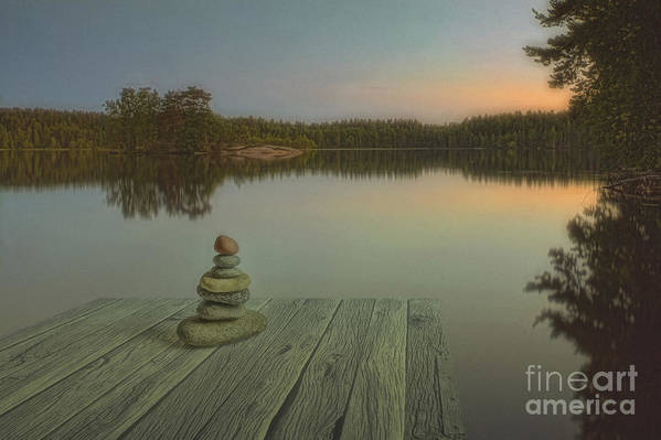 Art Art Print featuring the photograph Silence Of The Wilderness by Veikko Suikkanen