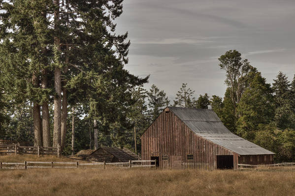 Barn Art Print featuring the photograph Simpler Times 2 by Randy Hall