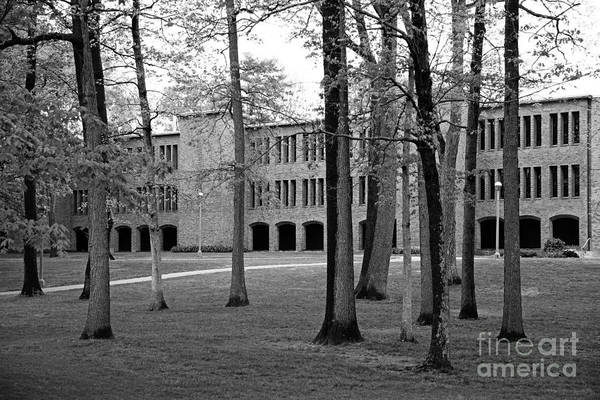 New York Art Print featuring the photograph Skidmore College Dana Science Center by University Icons
