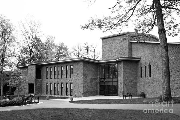 Filene Hall Art Print featuring the photograph Skidmore College Filene Hall by University Icons