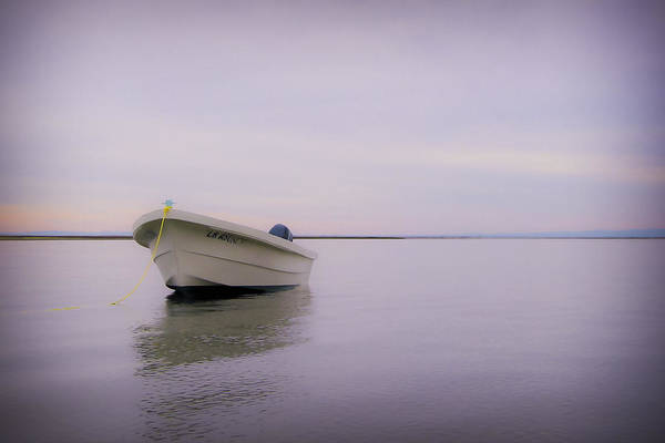 3scape Photos Art Print featuring the photograph Solitary Boat by Adam Romanowicz