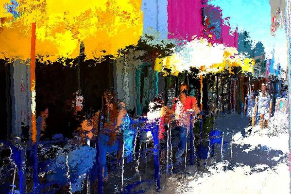 Austin Art Print featuring the mixed media South Congress by Terence Morrissey