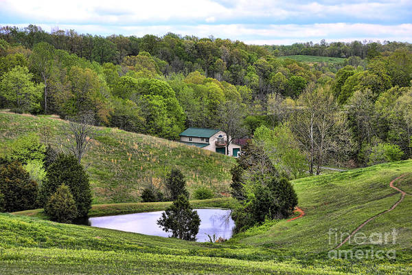 Tennessee Art Print featuring the photograph Southern Landscapes IIi by Chuck Kuhn