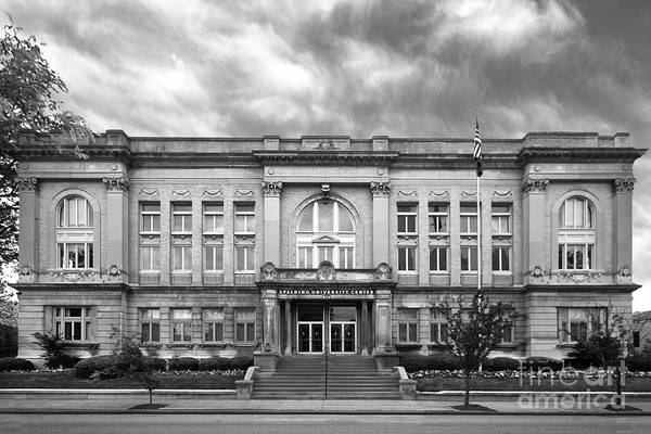 Catherine Spalding Art Print featuring the photograph Spalding University Center by University Icons