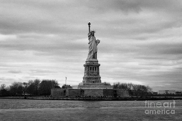 Usa Print featuring the photograph Statue Of Liberty Liberty Island New York City by Joe Fox