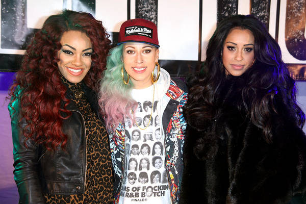Jezcself Art Print featuring the photograph Stooshe 2 by Jez C Self