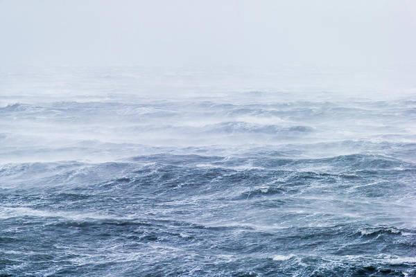 c2f2ba11385 Scenics Art Print featuring the photograph Stormy Seas
