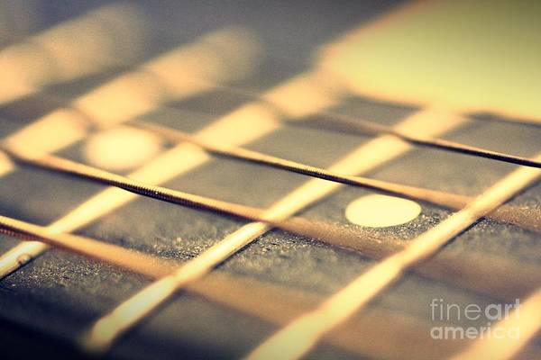 Guitar Art Print featuring the photograph Strings by Patrick Rodio