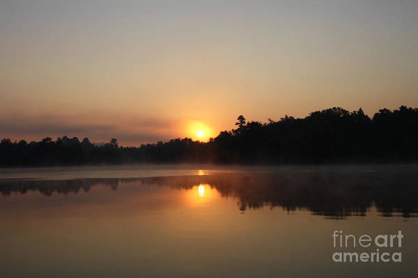 Sunrise Art Print featuring the pyrography Sunrise At Peggy's Point by Steve Knapp