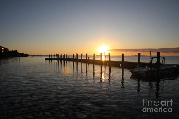Sunset Art Print featuring the photograph Sunset On Key Largo by Christiane Schulze Art And Photography