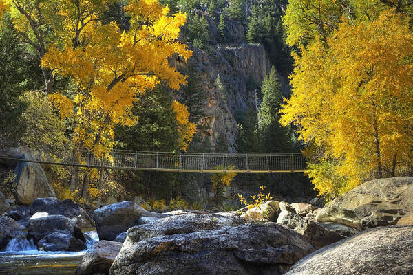 Poudre Art Print featuring the photograph Suspended by Rich Ernst