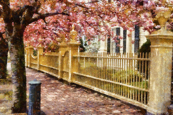 Salem Art Print featuring the photograph Take A Walk Along Federal Street by Jeff Folger