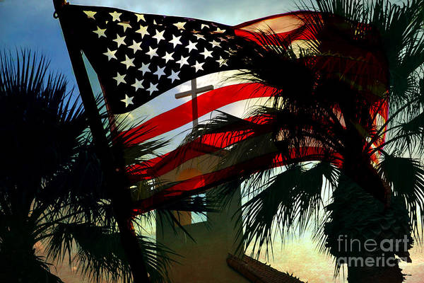 America Flag Art Print featuring the photograph Take Back America by Beverly Guilliams