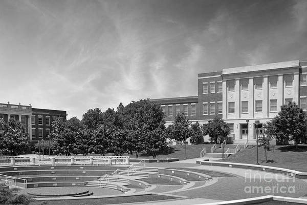 Averitte Amphitheater Art Print featuring the photograph Tennessee State University Averitte Amphitheater by University Icons