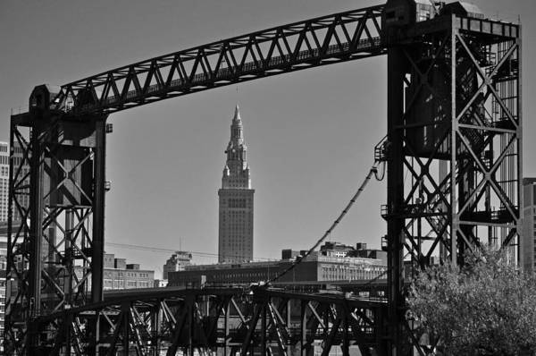 Cleveland Art Print featuring the photograph Terminal Tower 3 by Patrick Friery