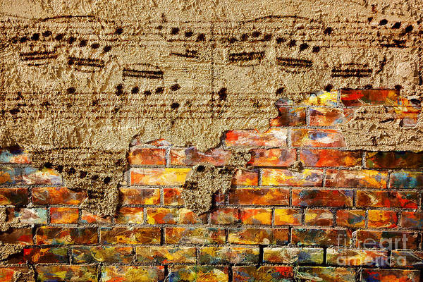 Music Art Print featuring the digital art Texture And Timbre by Lon Chaffin