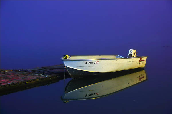 Metro Art Print featuring the photograph The Boat In The Fog by Metro DC Photography