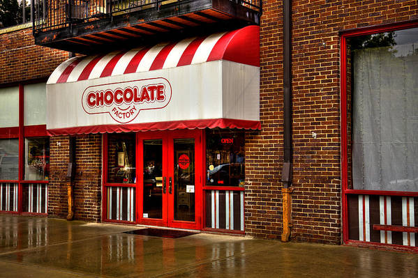 Chocolate Art Print featuring the photograph The Chocolate Factory by David Patterson