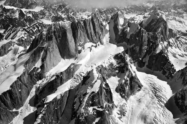 Mooses Tooth Art Print featuring the photograph The Mooses Tooth Alaska by Alasdair Turner
