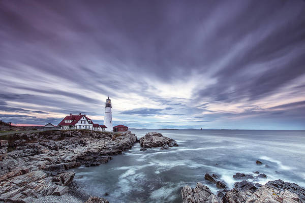 Horizontal Art Print featuring the photograph The Motion Of Light by Jon Glaser
