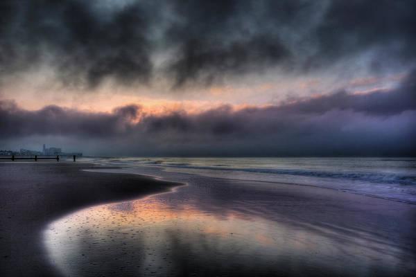 Ocean City Art Print featuring the photograph The Oc At Dawn by Lori Deiter