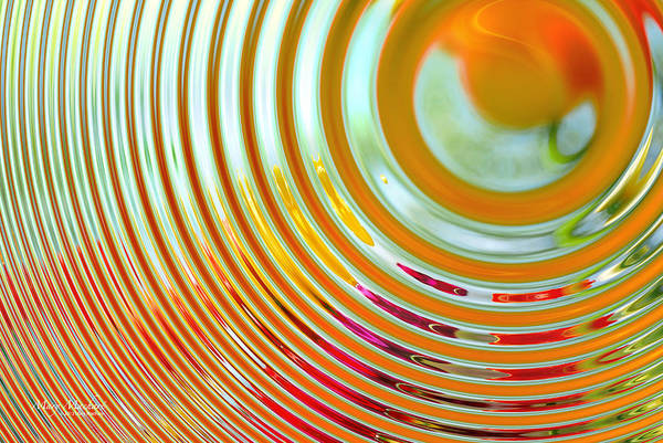 Abstract Art Print featuring the digital art The Ripple Effect by Mary Machare