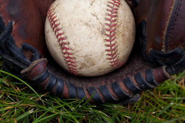 Baseball Art Print featuring the photograph The Scoop by David Patterson