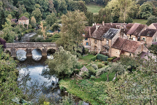 France Art Print featuring the photograph The Village by Olivier Le Queinec