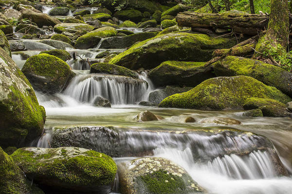 Horizontal Art Print featuring the photograph The Water Will by Jon Glaser