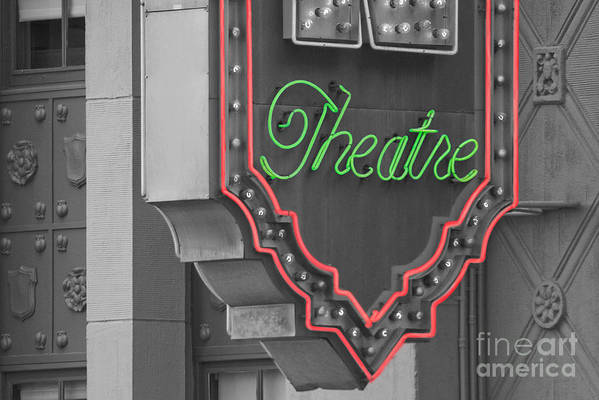 Theater Art Print featuring the photograph Theatre by Dan Holm