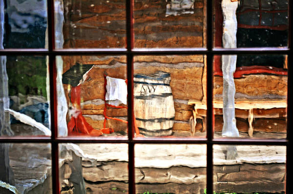 Still Life Art Print featuring the photograph Through The Window by Marty Koch