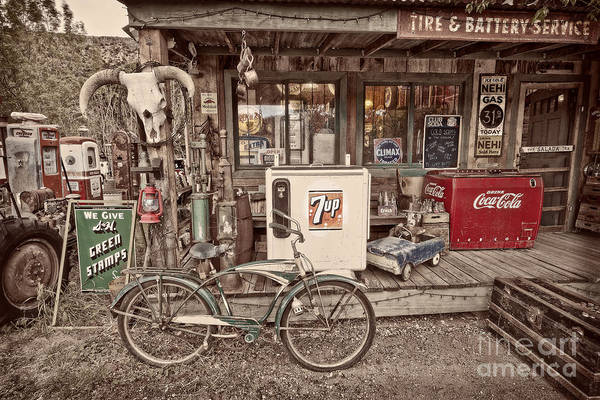 New Mexico Art Print featuring the photograph Tire And Battery Service by Matt Suess