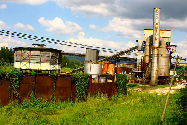 Factory Art Print featuring the photograph Tropical Distillery by Jon Emery