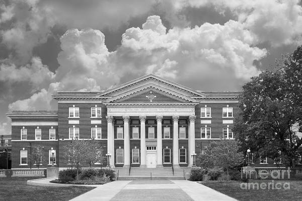 Albany Art Print featuring the photograph University At Albany Draper Hall by University Icons