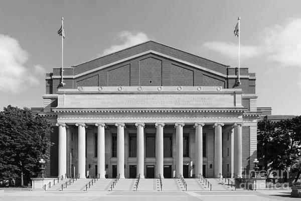 Aau Art Print featuring the photograph University Of Minnesota Northrop Auditorium by University Icons