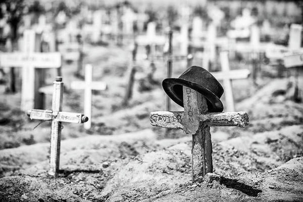 Graveyard Art Print featuring the photograph Untitled by Goran Jovic