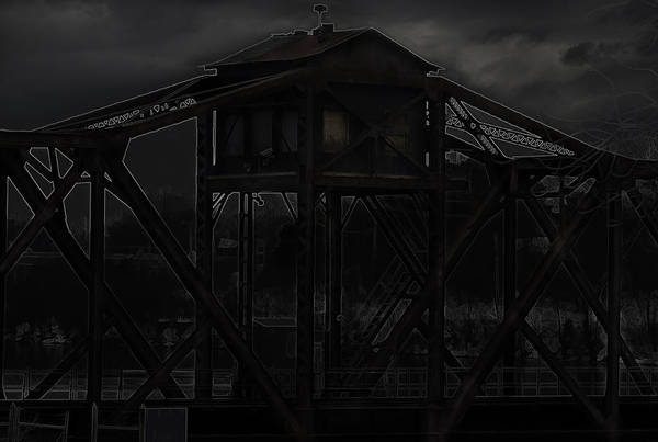 Train Stop Art Print featuring the photograph Urban Metal by Thomas Young