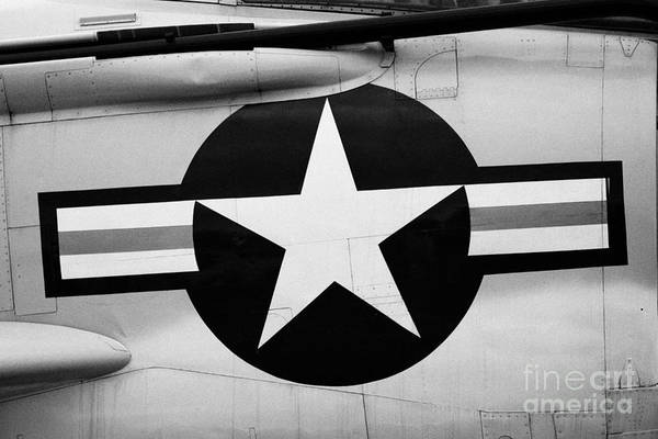 Usa Art Print featuring the photograph Usaf Star And Bars Insignia On A Mcdonnell F3b F3 Demon by Joe Fox